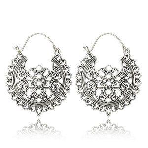 3/$20 New Silver Vintage Style Geometric Earrings
